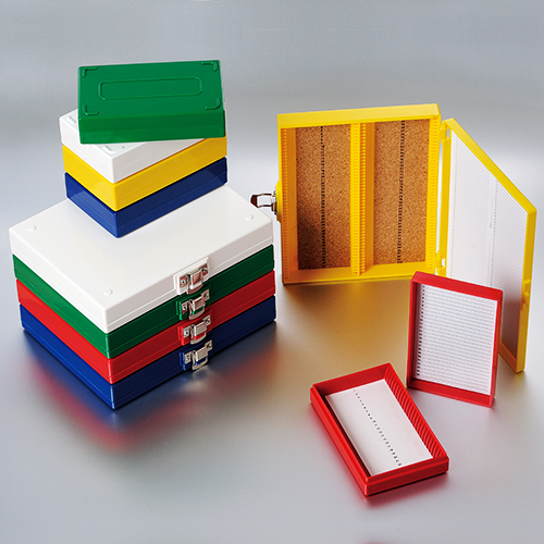 Slide Storage Boxes and Mailers