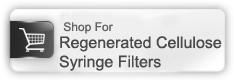 regenerated cellulose syringe filters