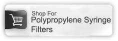 polypropylene syringe filter